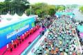 时代中国・2019河源万绿湖国际马拉松落幕