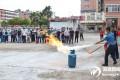 和平县镇村两级开展 消防安全培训演练