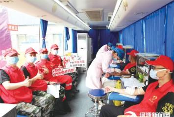 439位市民献血14.8万毫升