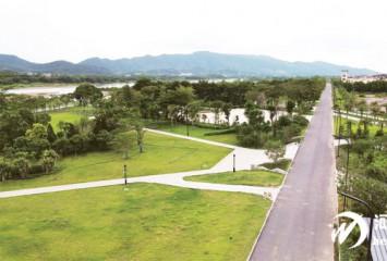 河源高新区又添一江景公园